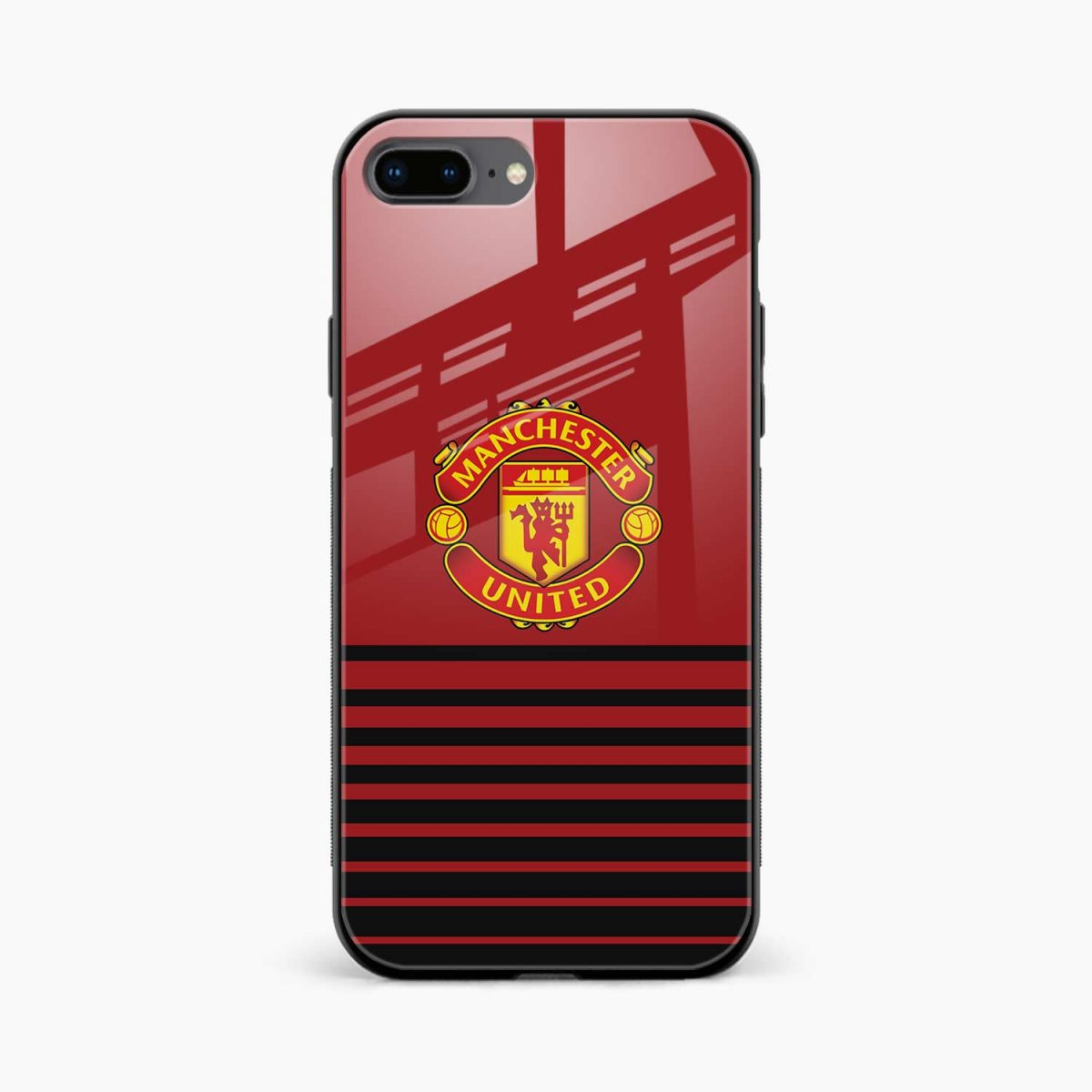 manchester united front view apple iphone 7 8 plus back cover