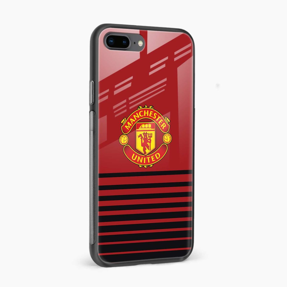 manchester united side view apple iphone 7 8 plus back cover