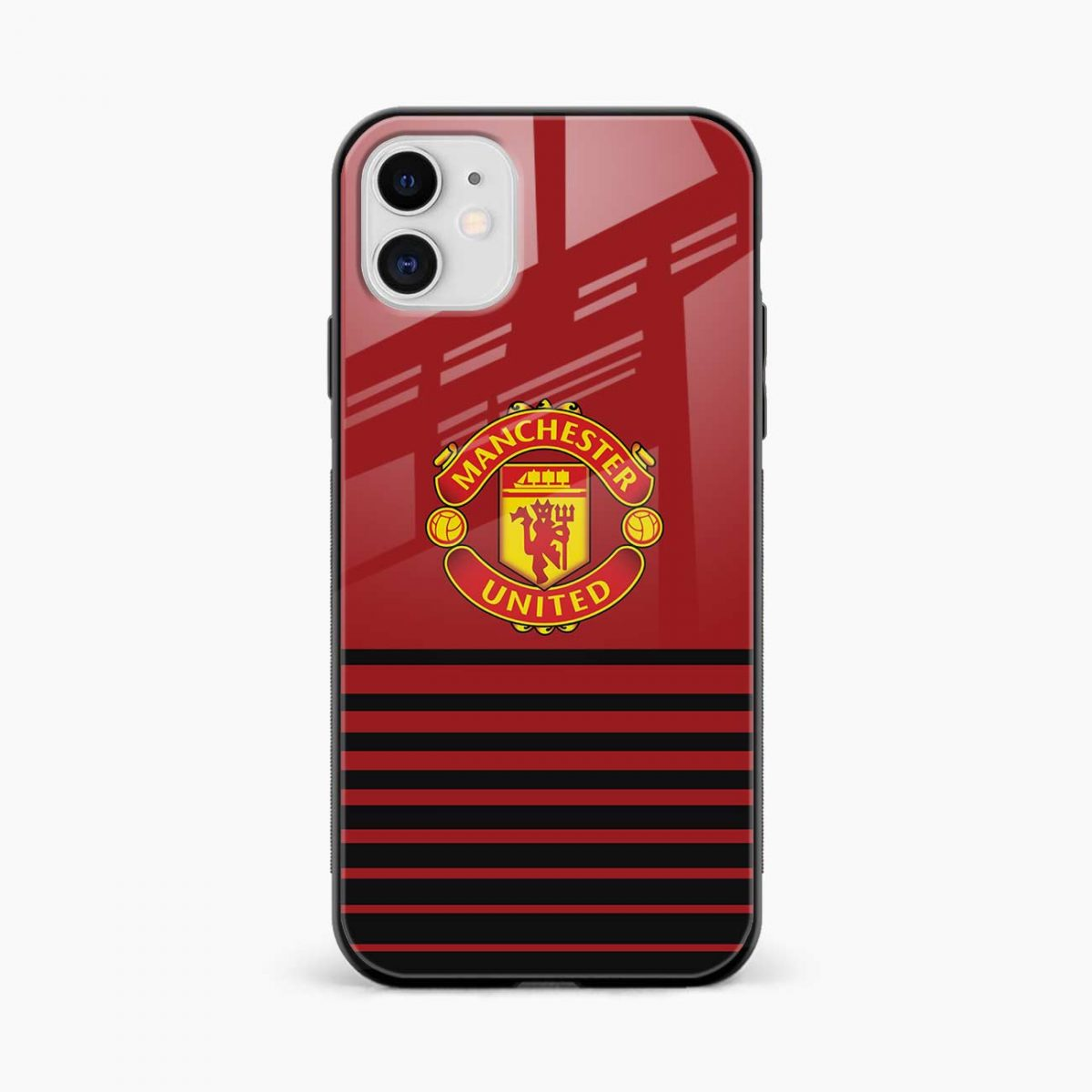 manchester united iphone back cover front view