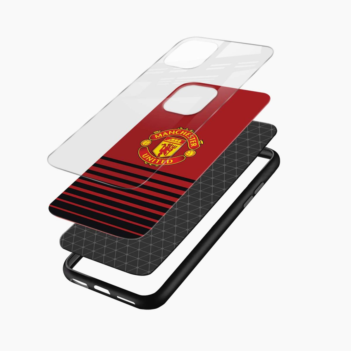 manchester united iphone back cover layers view