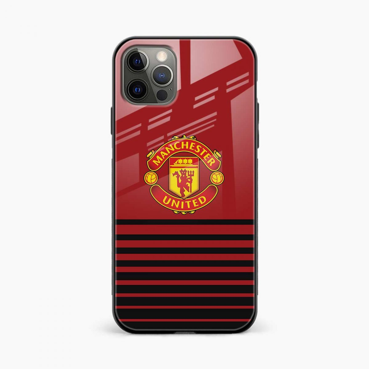 manchester united iphone pro back cover front view