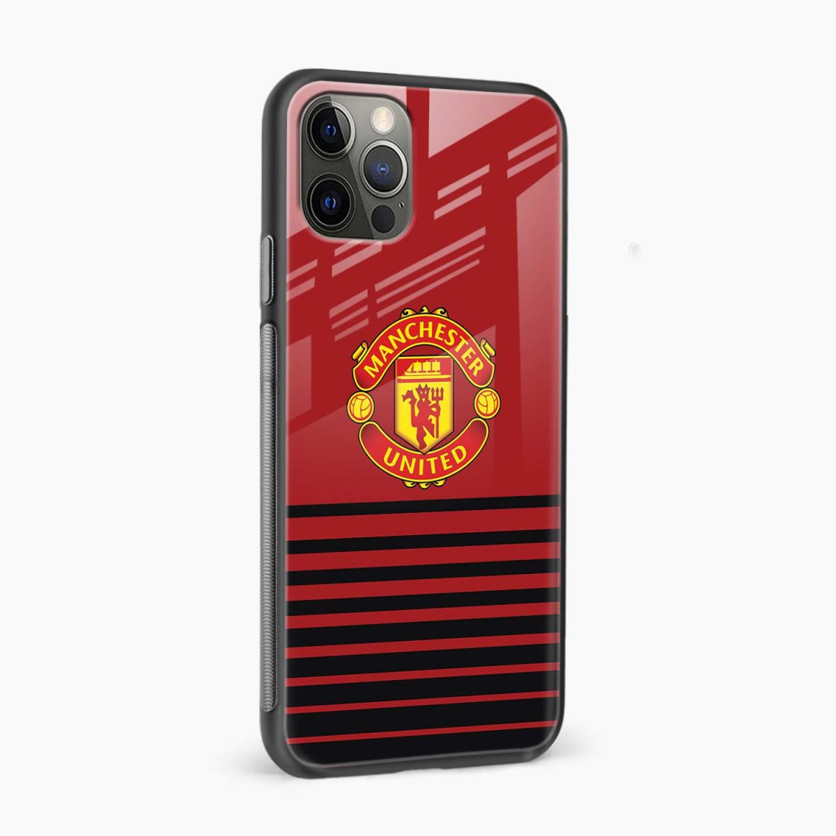 manchester united iphone pro back cover side view
