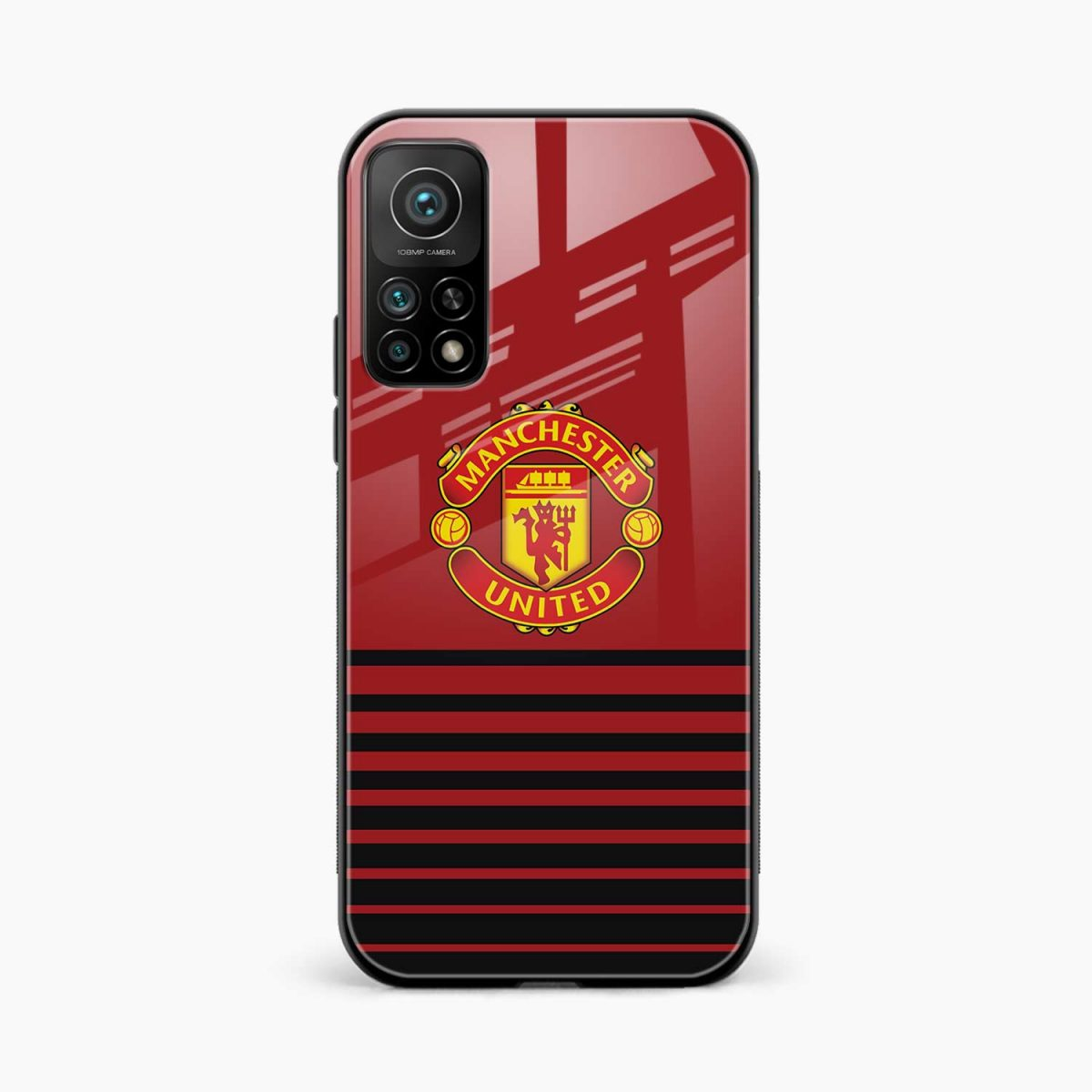 manchester united xiaomi mi 10t pro back cover front view