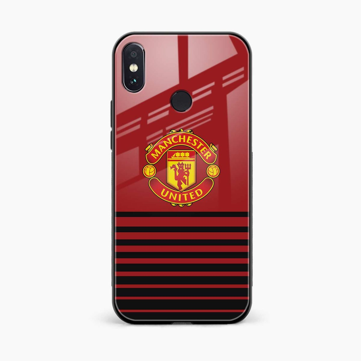 manchester united redmi note 5 pro back cover front view