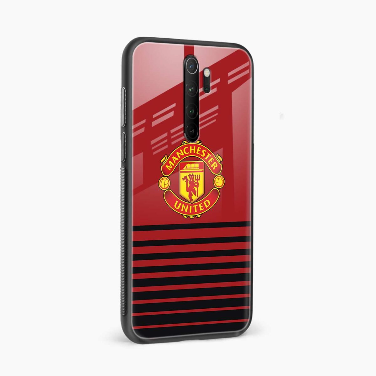 manchester united redmi note 8 pro back cover side view