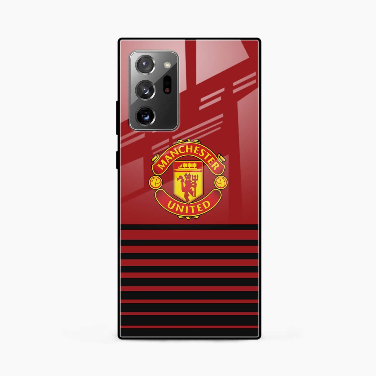 manchester united front view samsung galaxy note20 ultra back cover