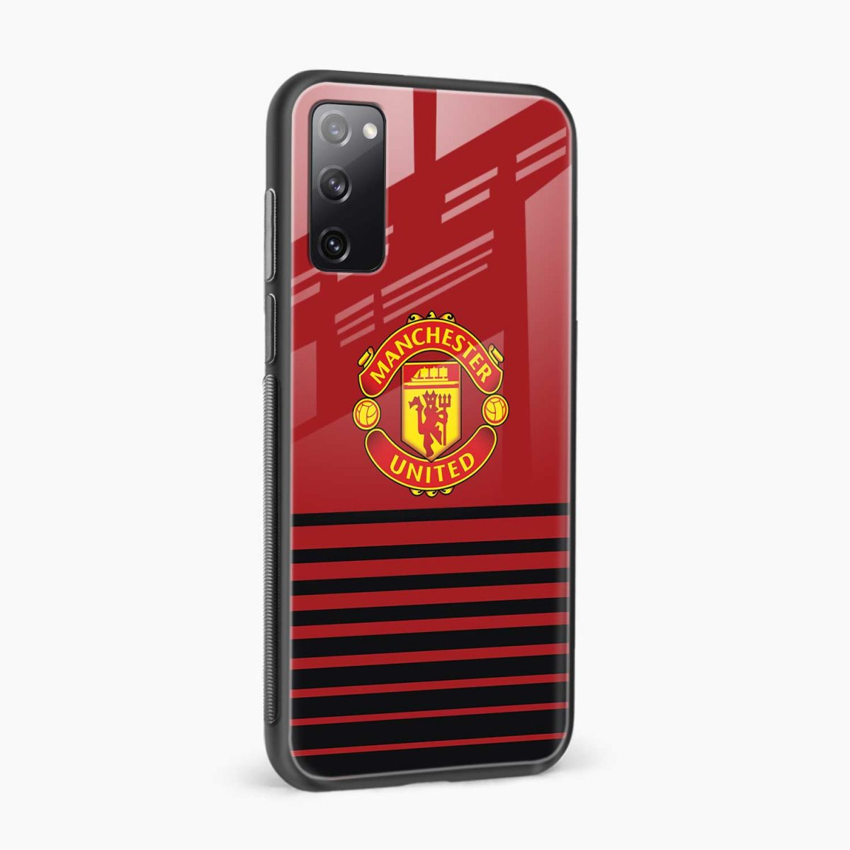 manchester united side view samsung galaxy s20 fe back cover