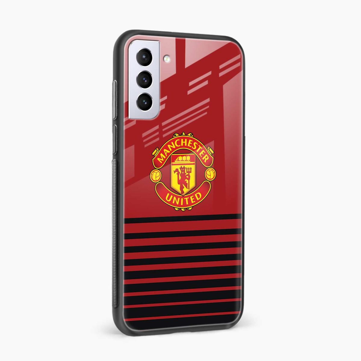 manchester united side view samsung s21 plug back cover