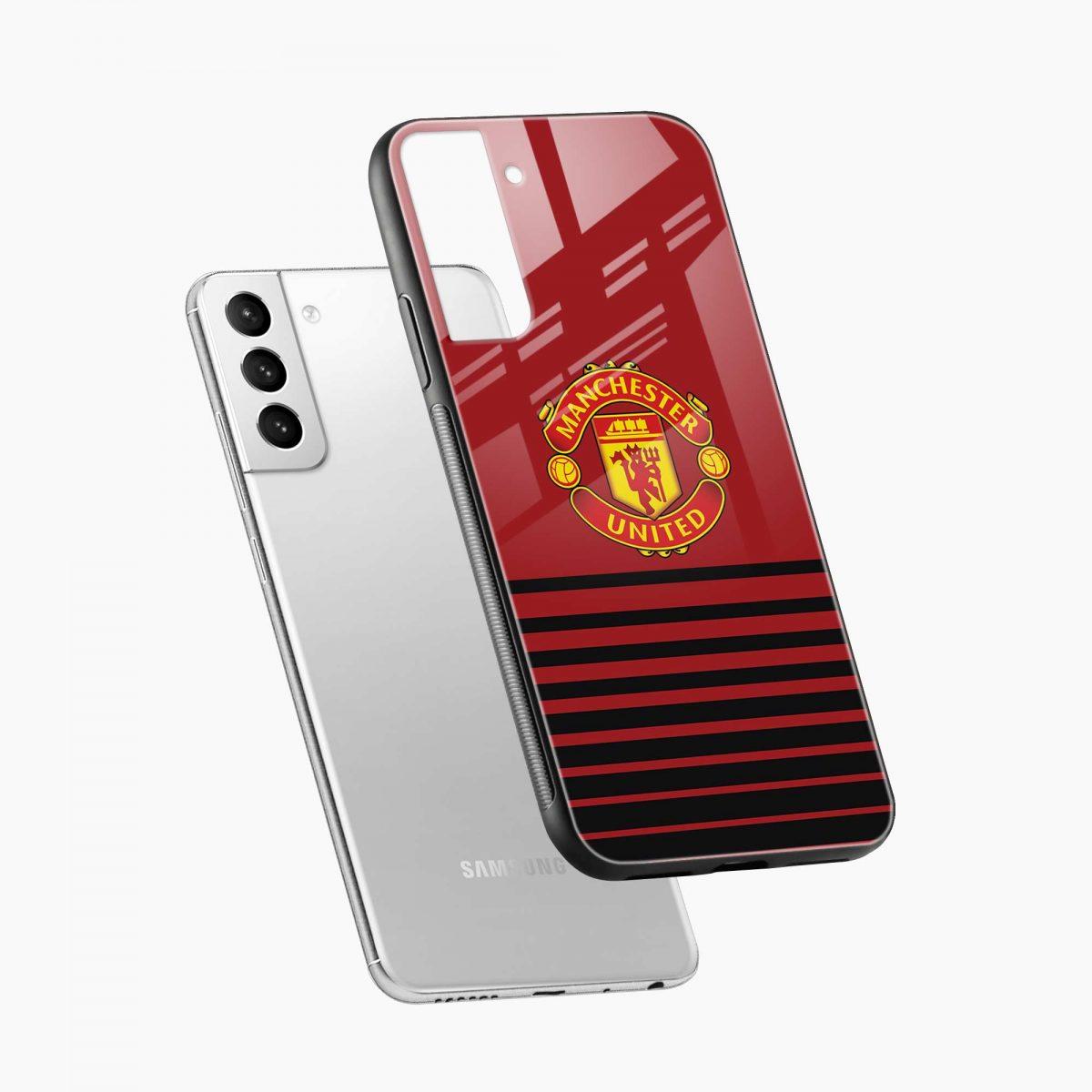 manchester united diagonal view samsung s21 plug back cover