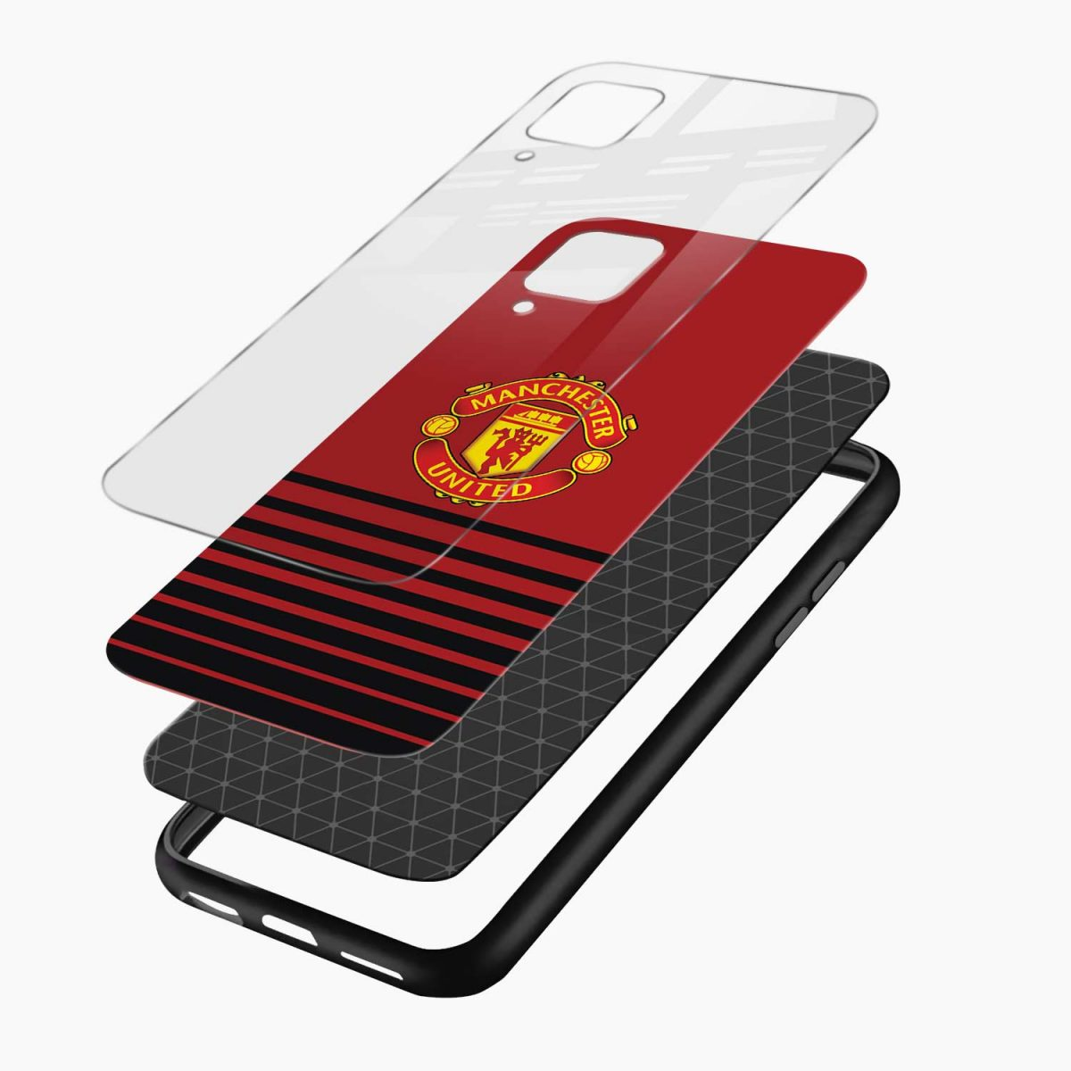 manchester united layers view samsung galaxy a12 back cover