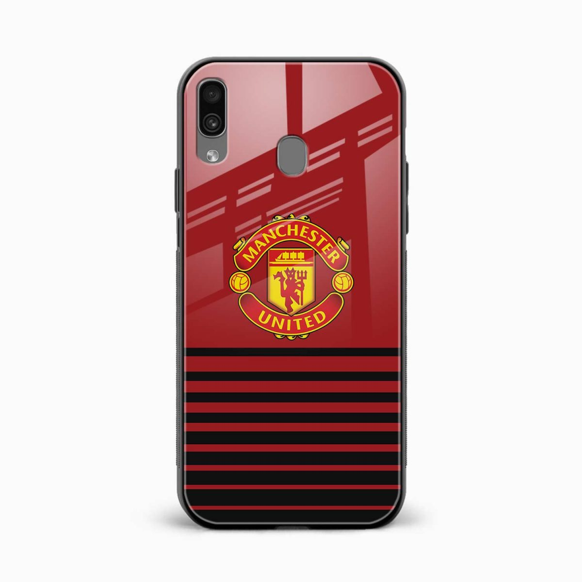 manchester united front view samsung galaxy a30 back cover