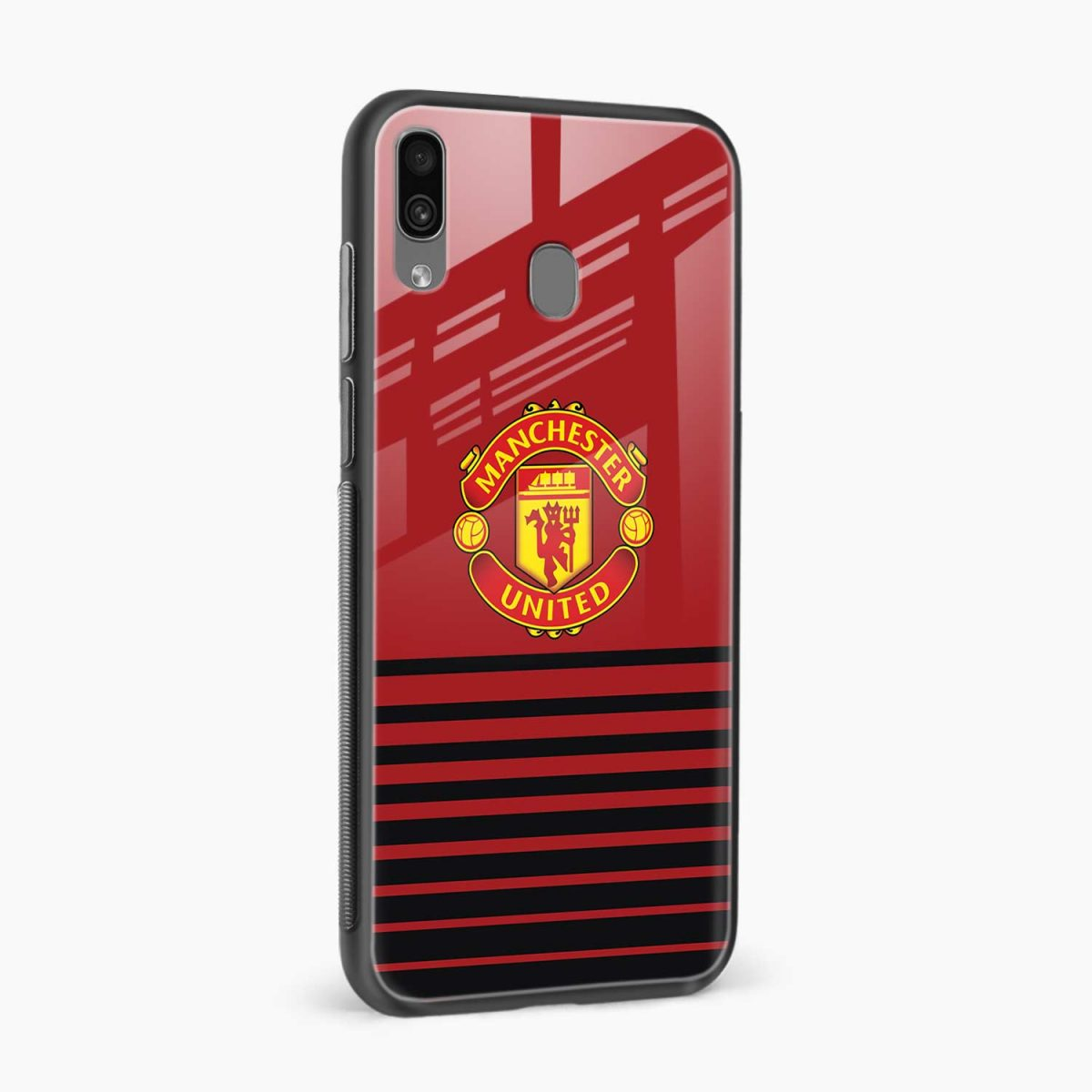 manchester united side view samsung galaxy a30 back cover