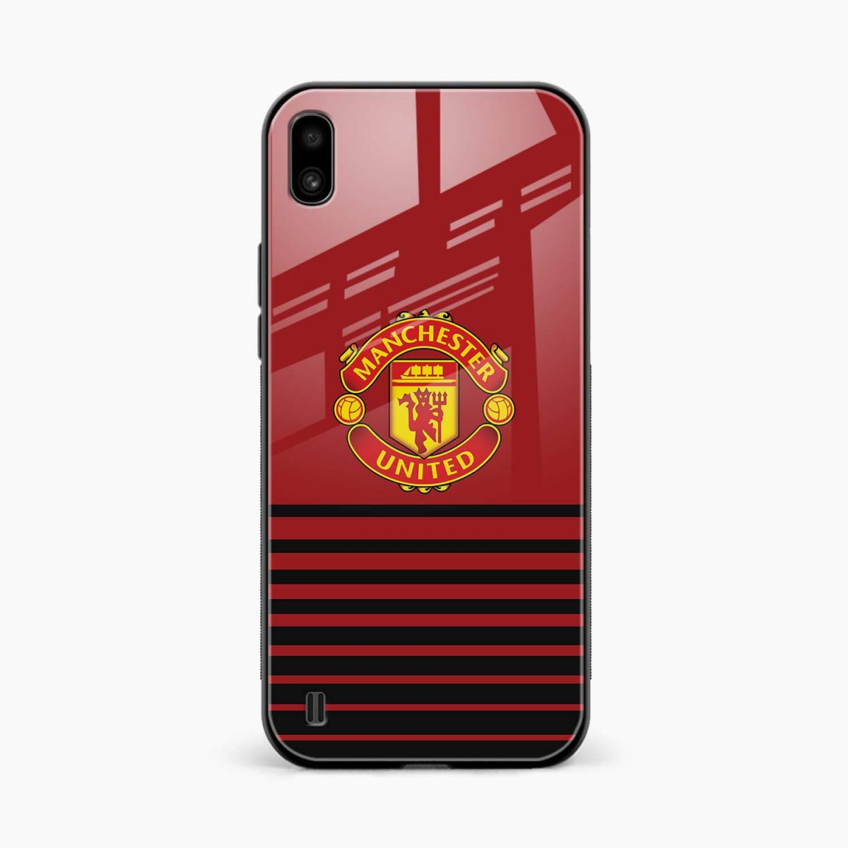 manchester united front view samsung galaxy a10 back cover
