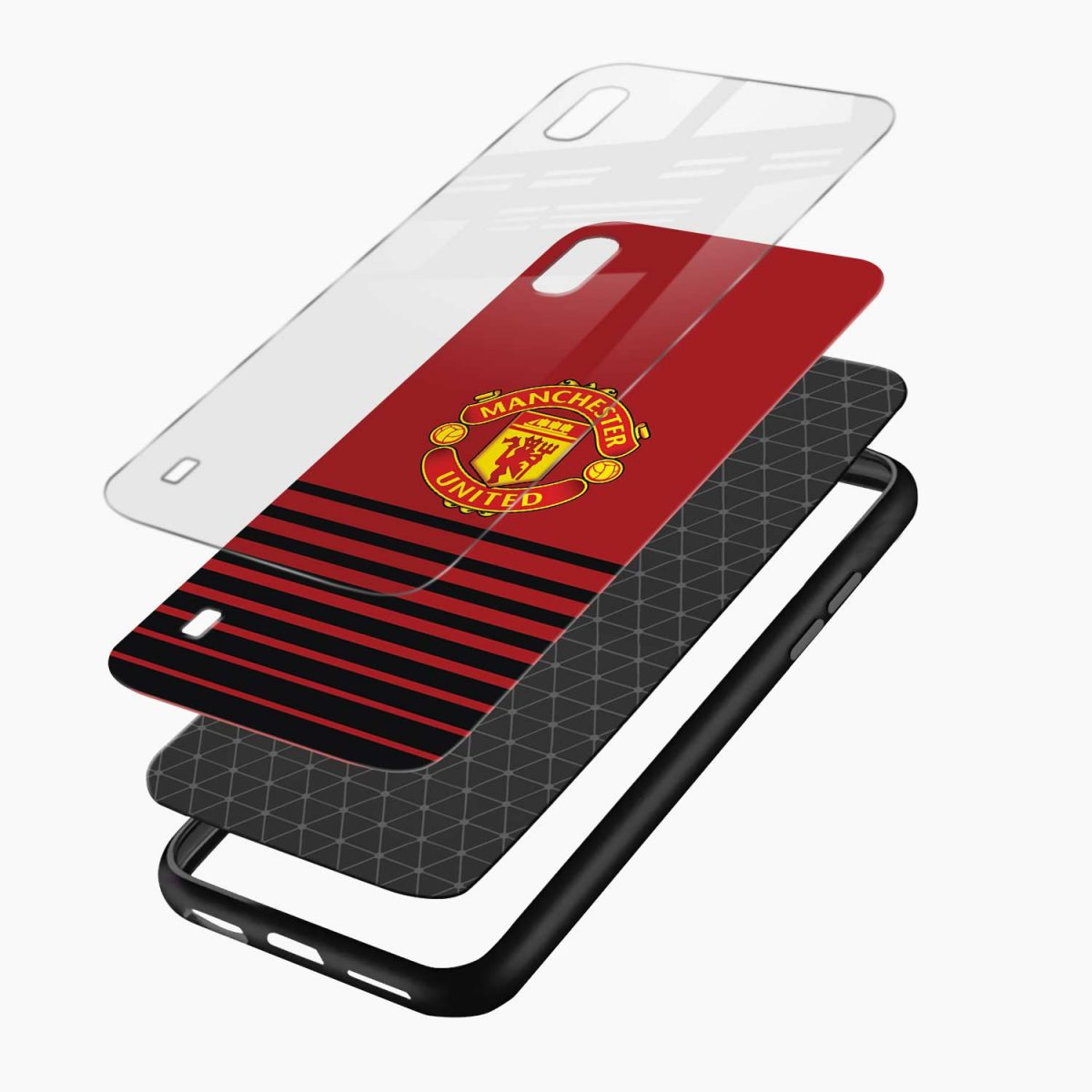 manchester united layers view samsung galaxy a10 back cover