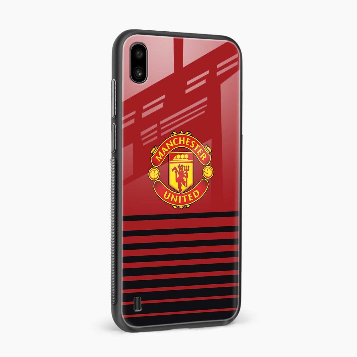 manchester united side view samsung galaxy a10 back cover