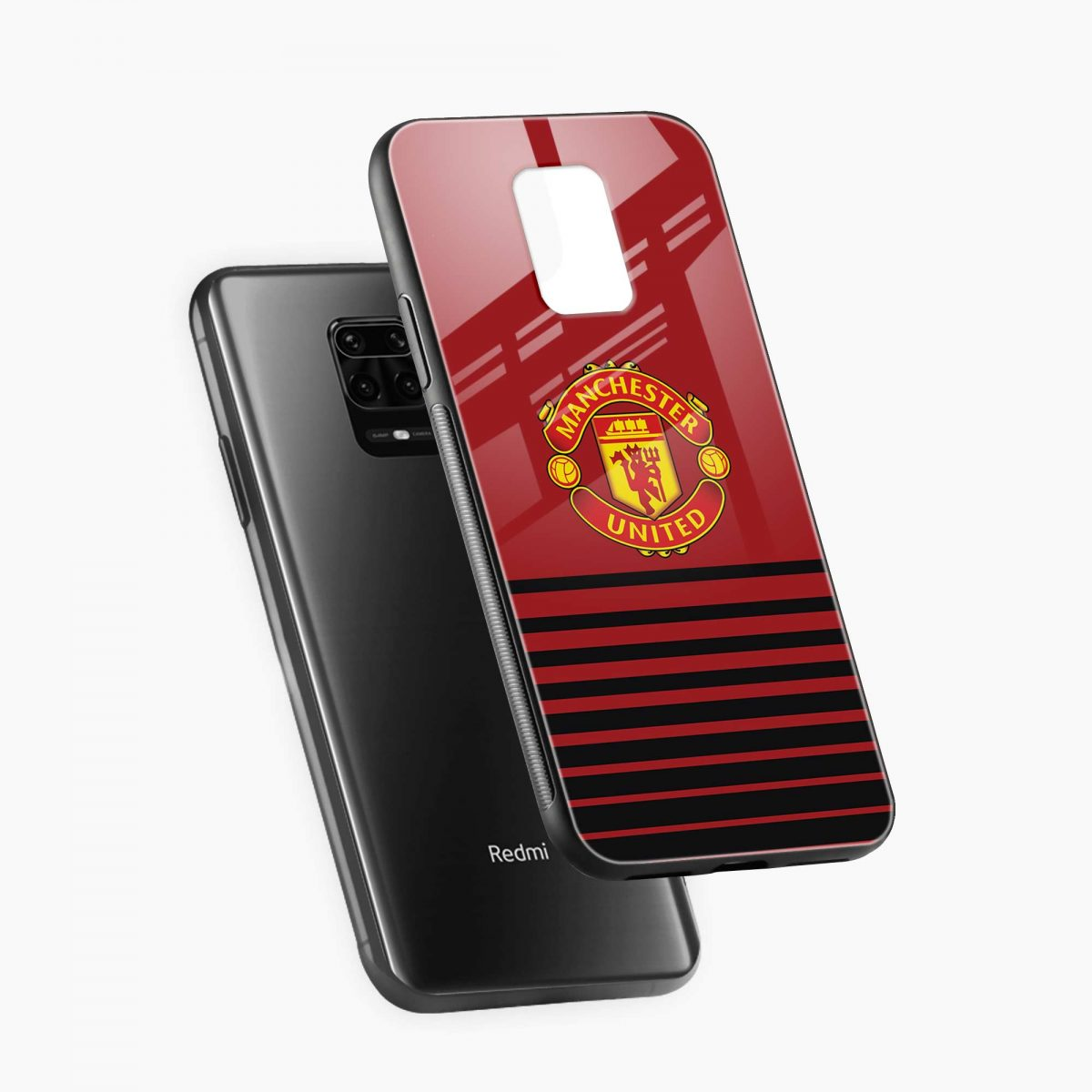manchester united diagonal view redmi note9 back cover