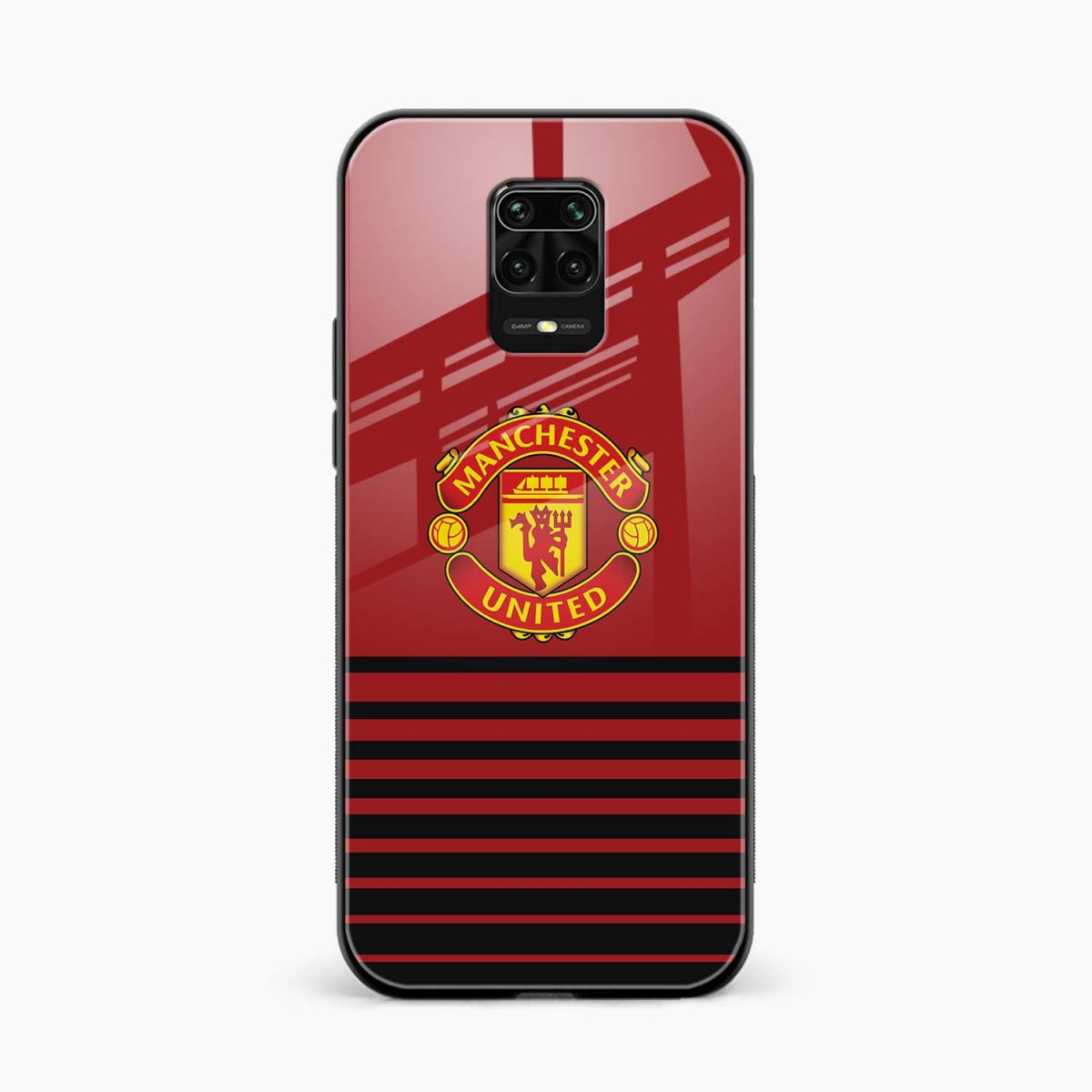 manchester united front view redmi note9 back cover