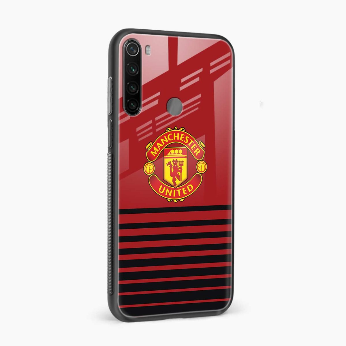 manchester united side view redmi note 8 back cover