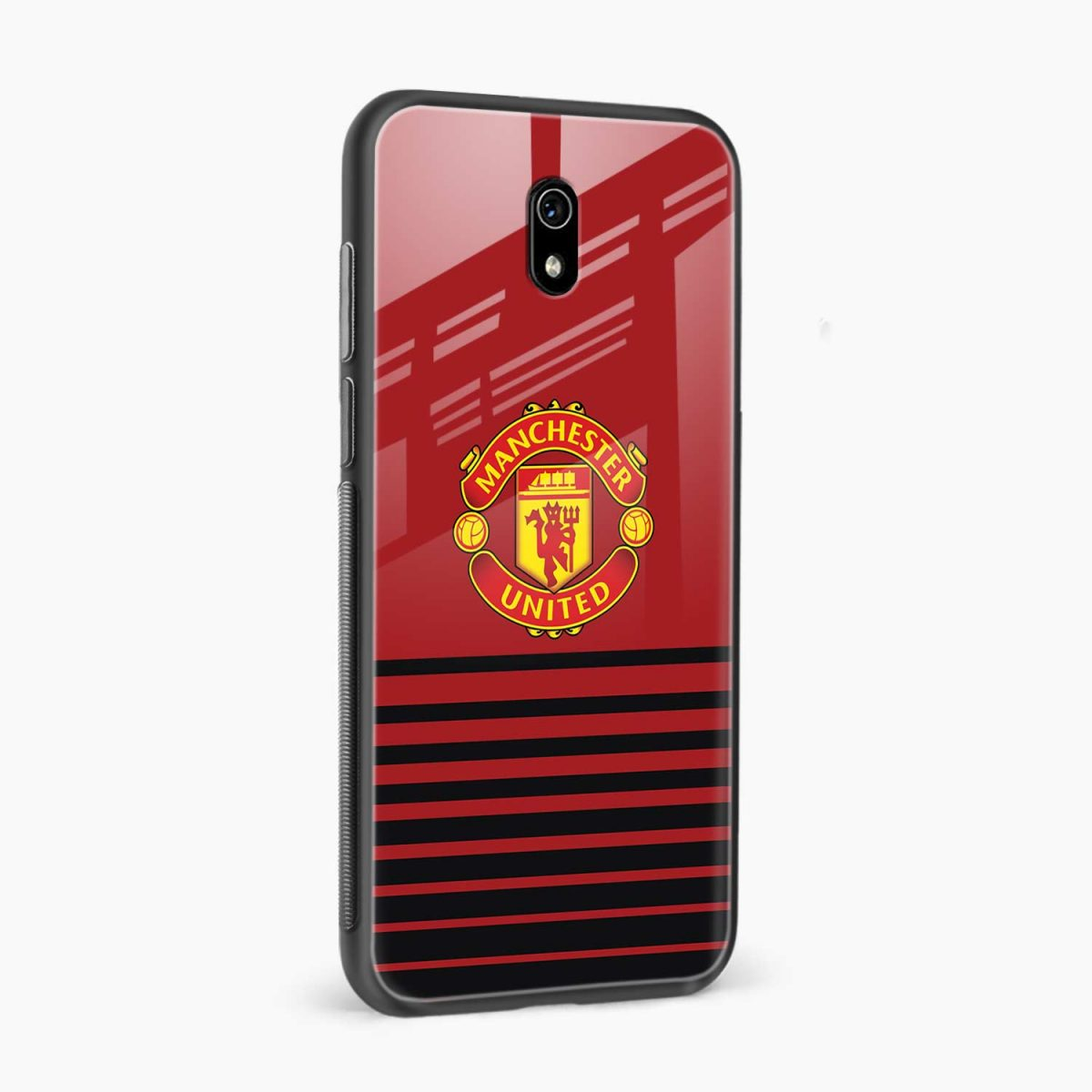 manchester united side view redmi 8a back cover