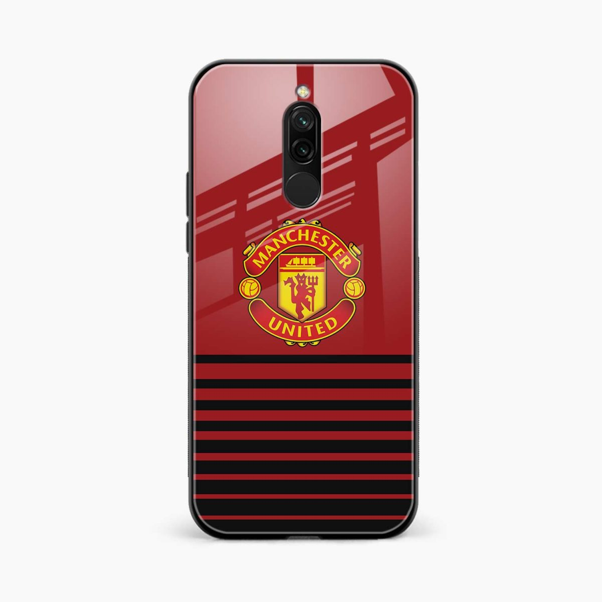 manchester united front view redmi 8 back cover