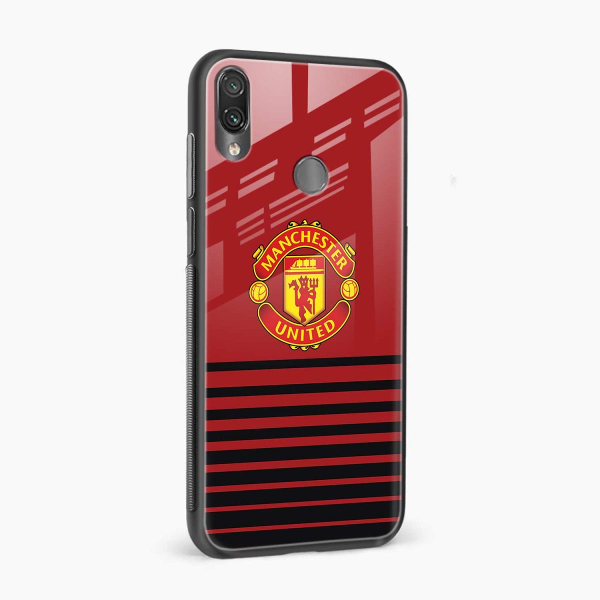 manchester united side view redmi note7 back cover