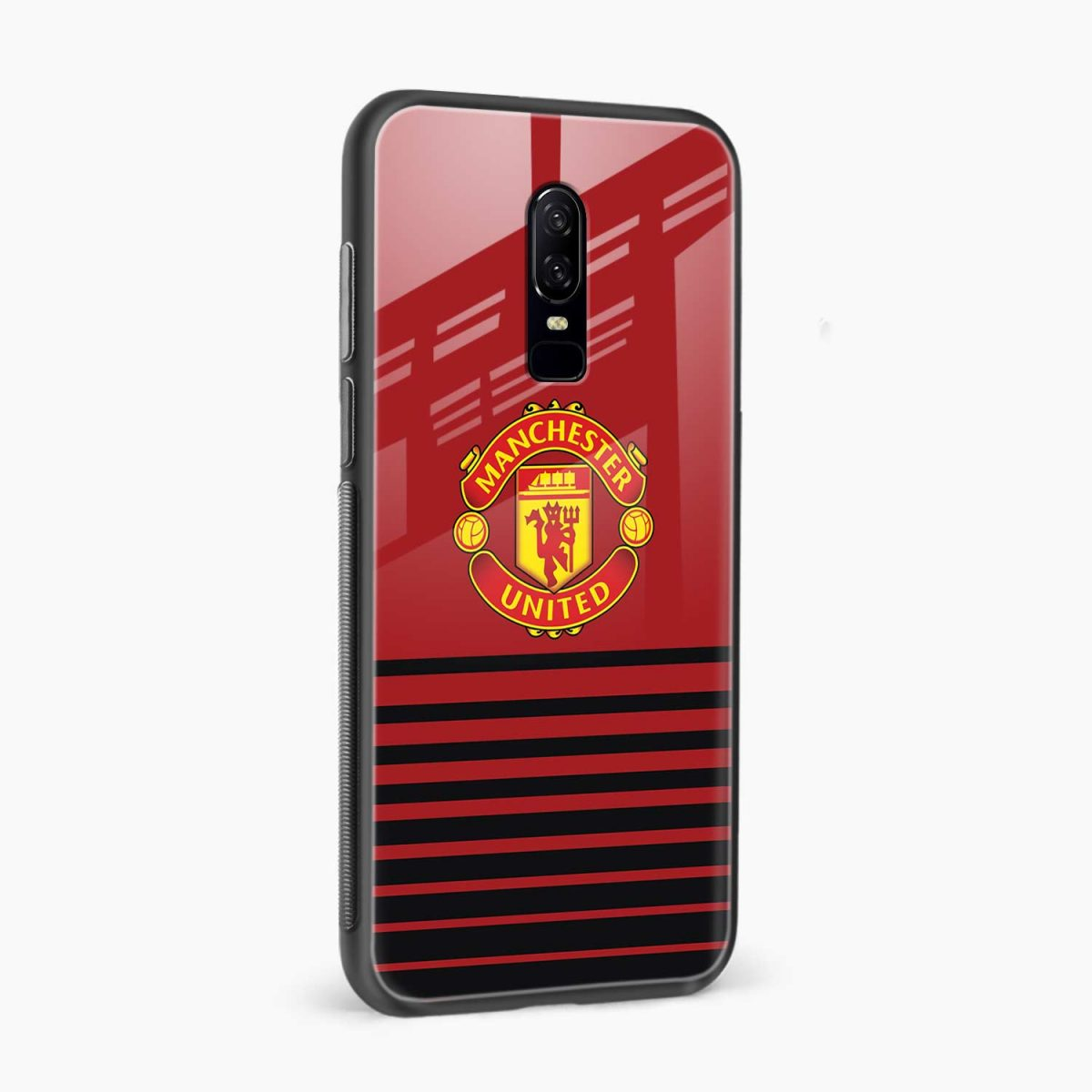 manchester united side view oneplus 6 back cover