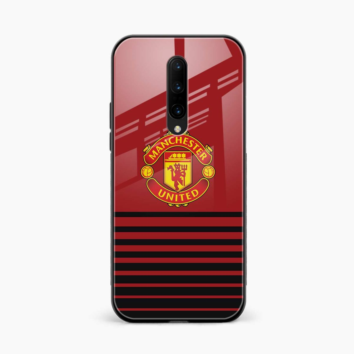 manchester united front view oneplus 7 pro back cover
