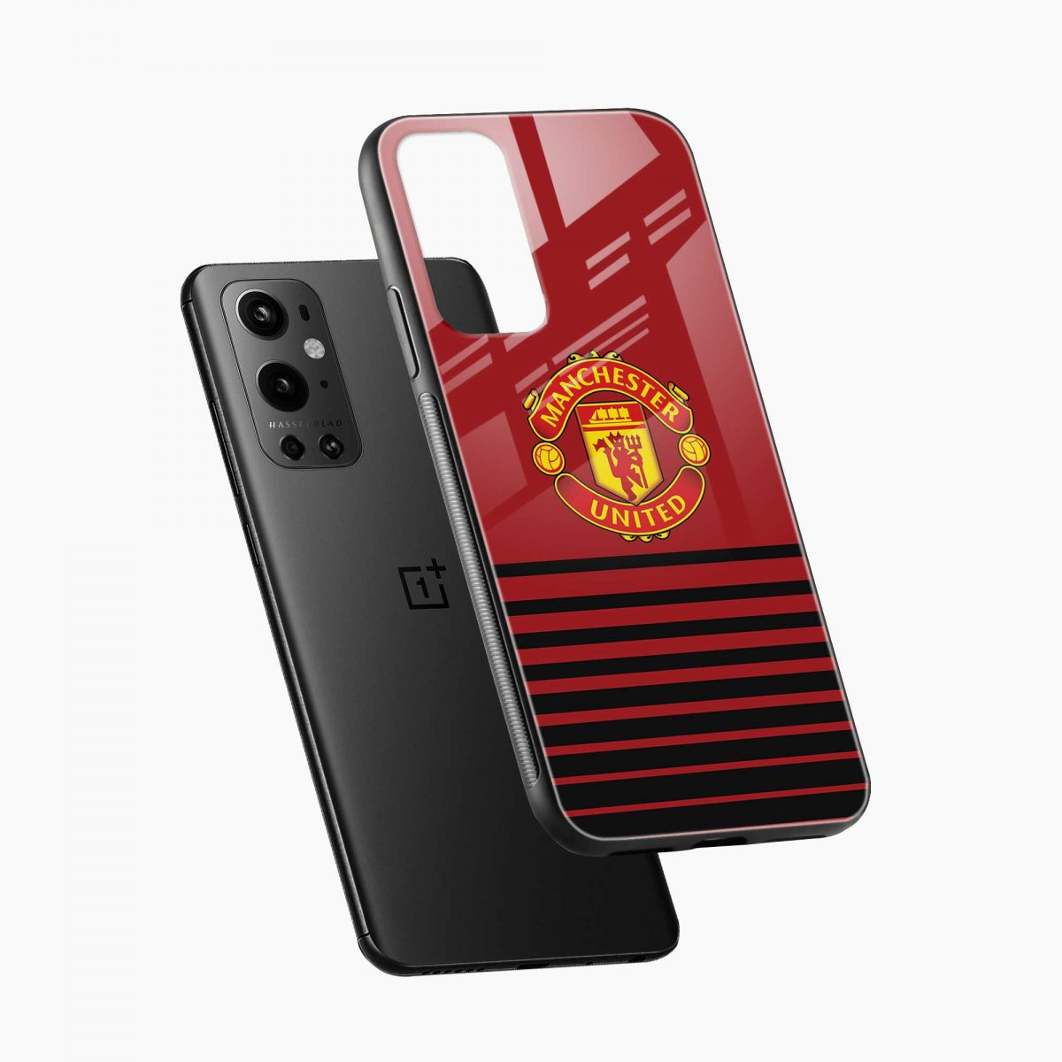 manchester united diagonal view oneplus 9 pro back cover