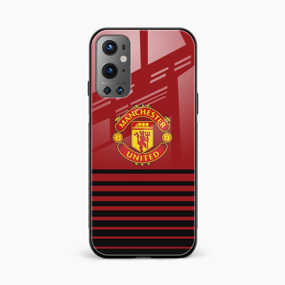 manchester united front view oneplus 9 pro back cover