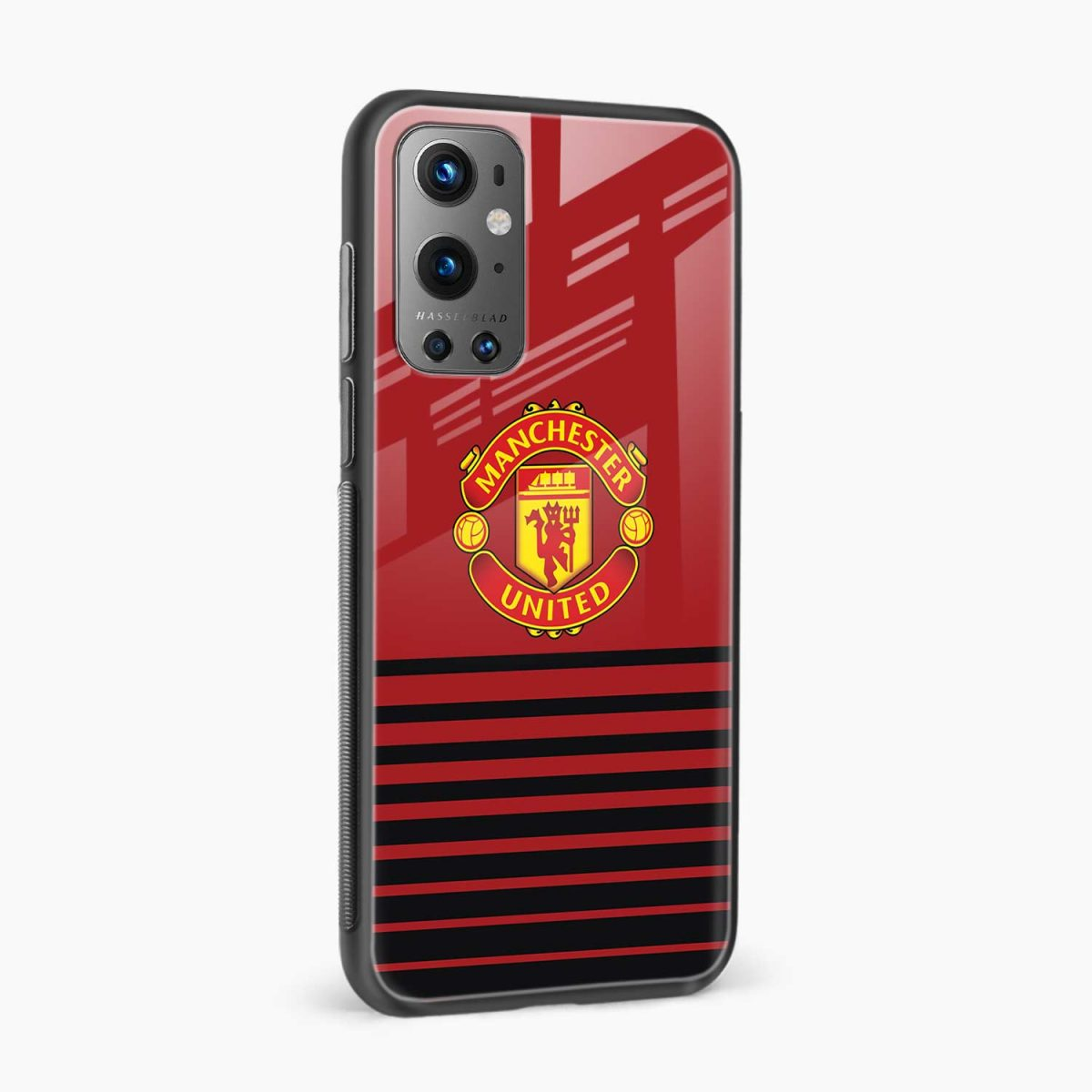manchester united side view oneplus 9 pro back cover
