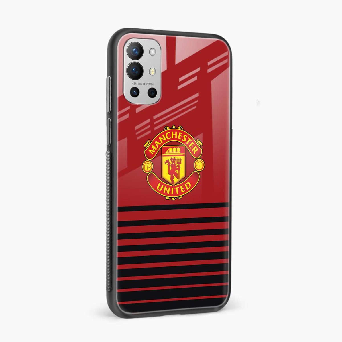 manchester united side view oneplus 9r back cover