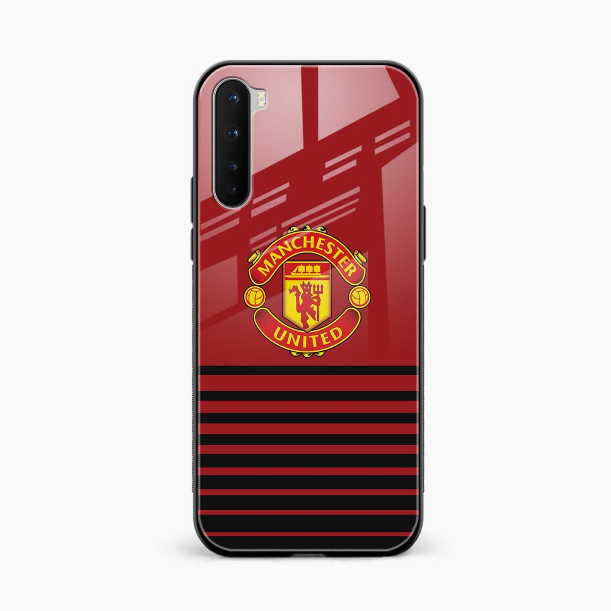 manchester united front view oneplus nord back cover