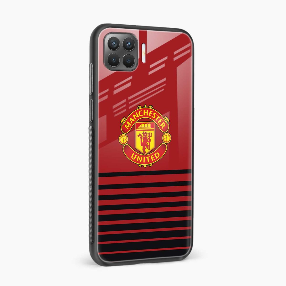 manchester united side view oppo f17 pro back cove