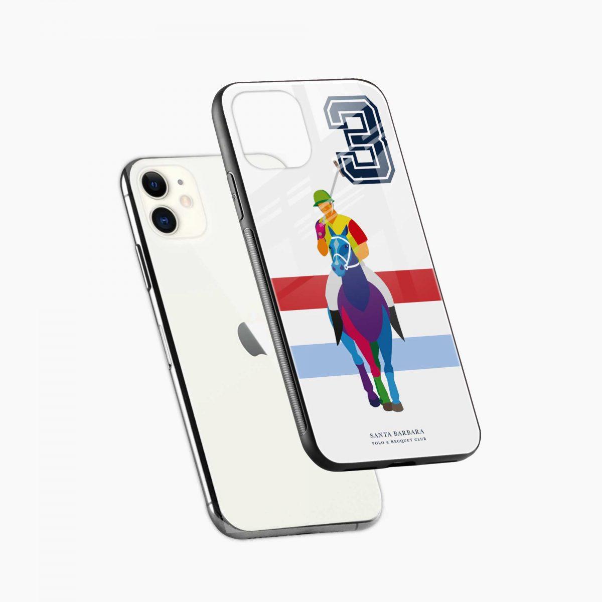 multicolor sant barbara polo iphone back cover diagonal view