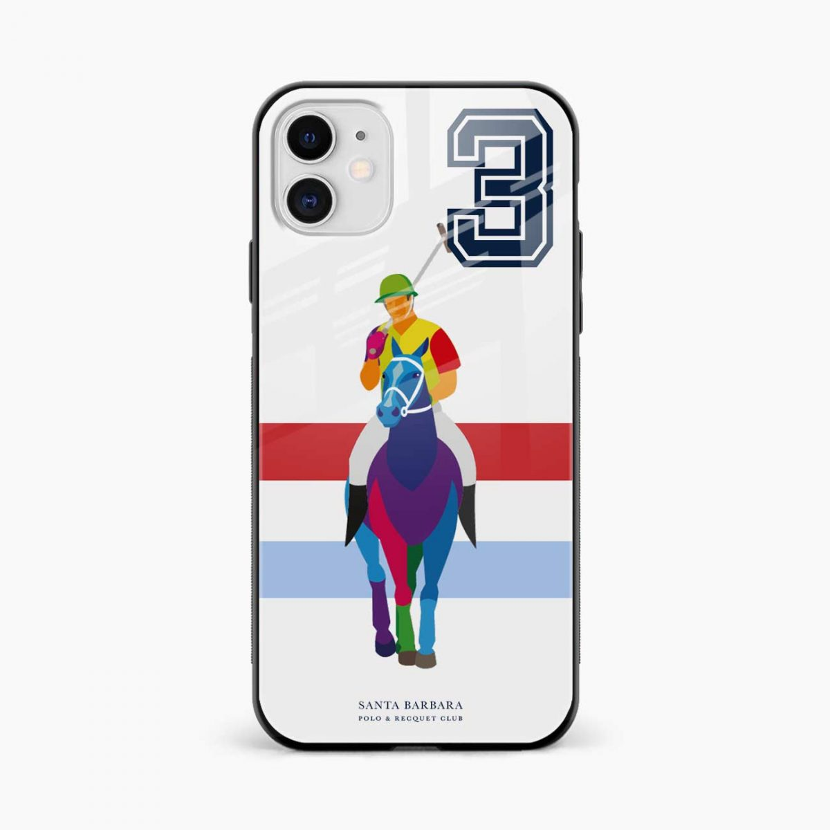 multicolor sant barbara polo iphone back cover front view