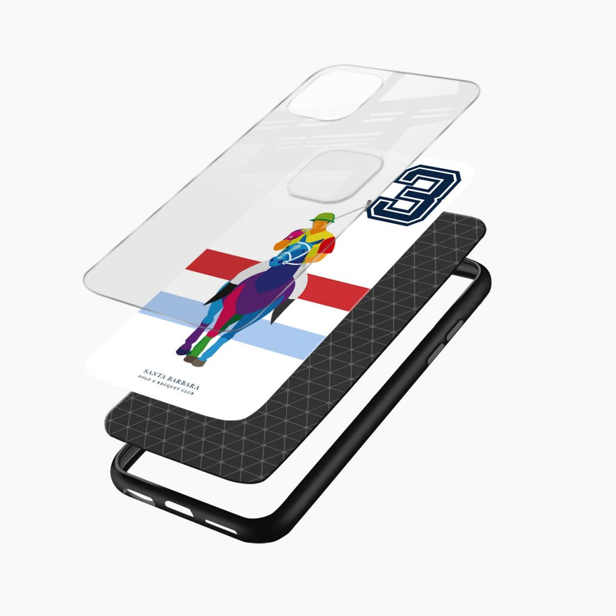 multicolor sant barbara polo iphone back cover layers view
