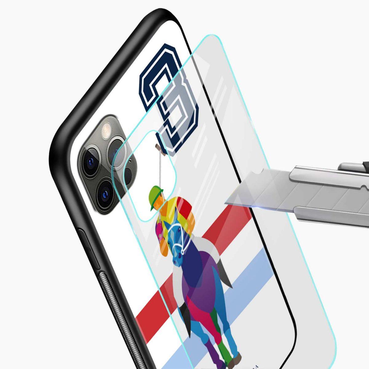 multicolor sant barbara polo iphone pro back cover glass view