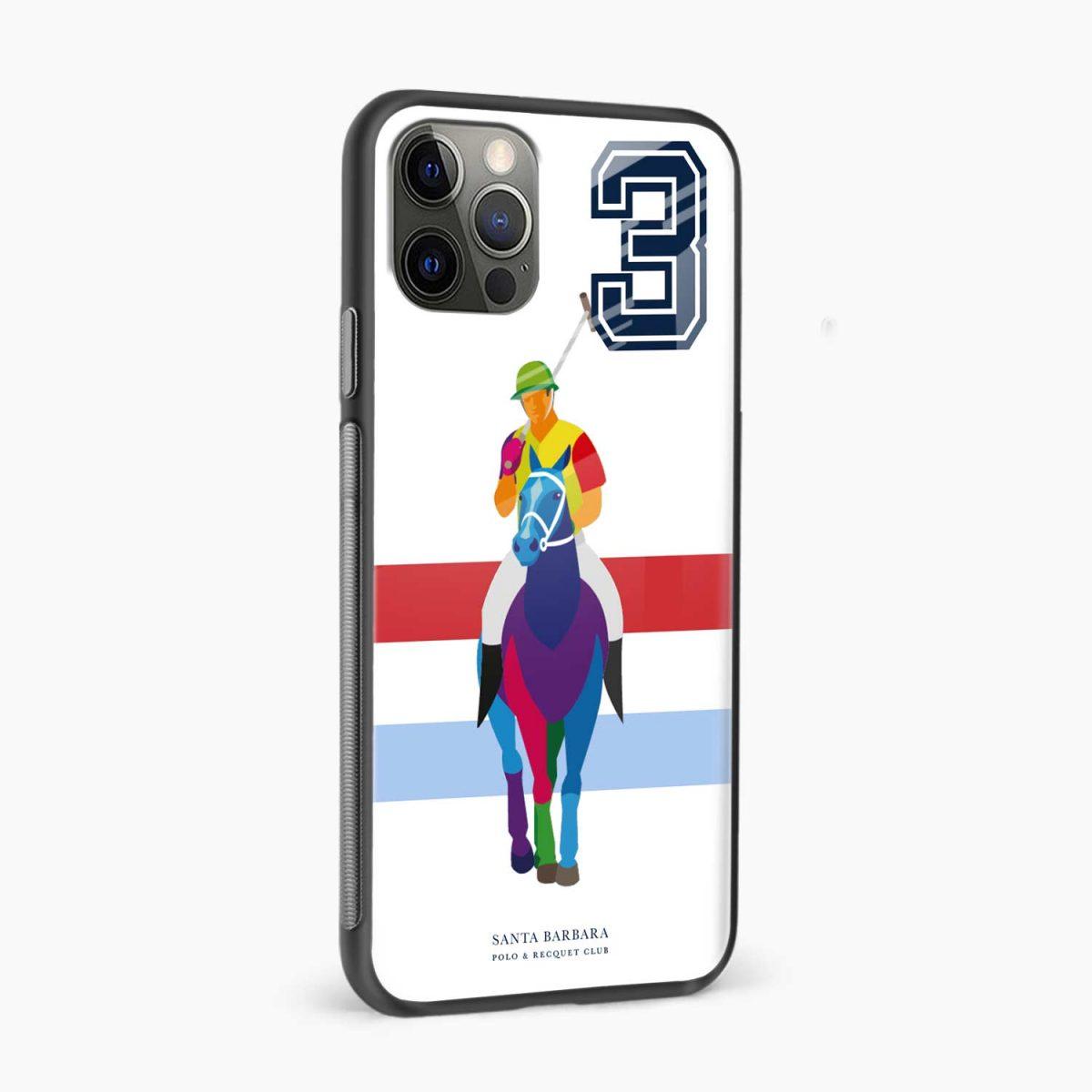 multicolor sant barbara polo iphone pro back cover side view