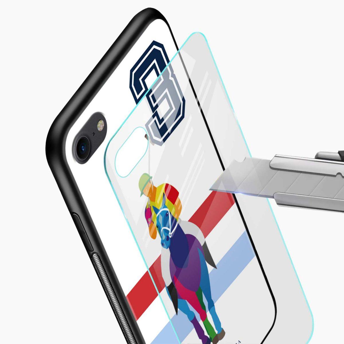 multicolor sant barbara polo glass view apple iphone 6 7 8 se back cover