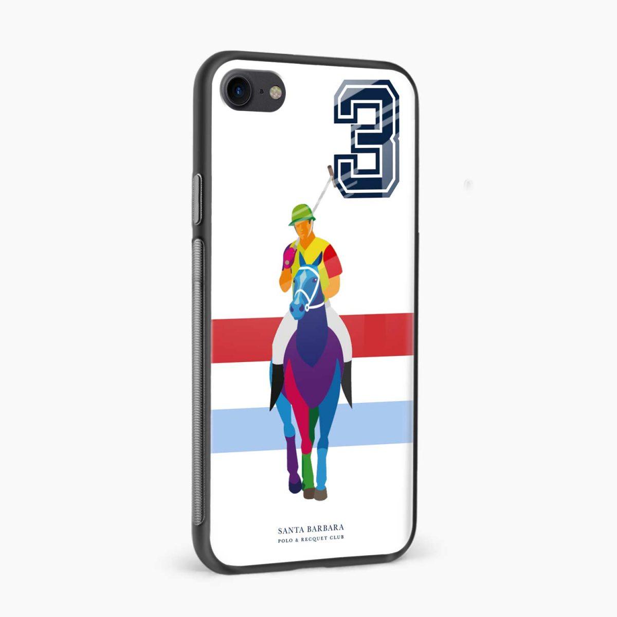 multicolor sant barbara polo side view apple iphone 6 7 8 se back cover