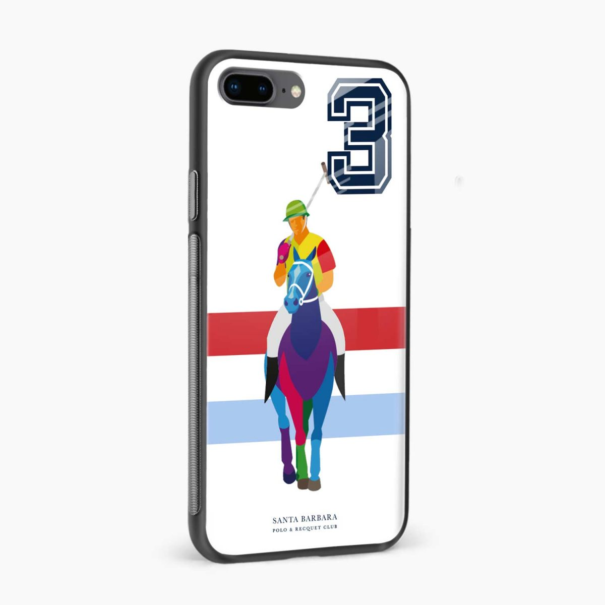 multicolor sant barbara polo side view apple iphone 7 8 plus back cover
