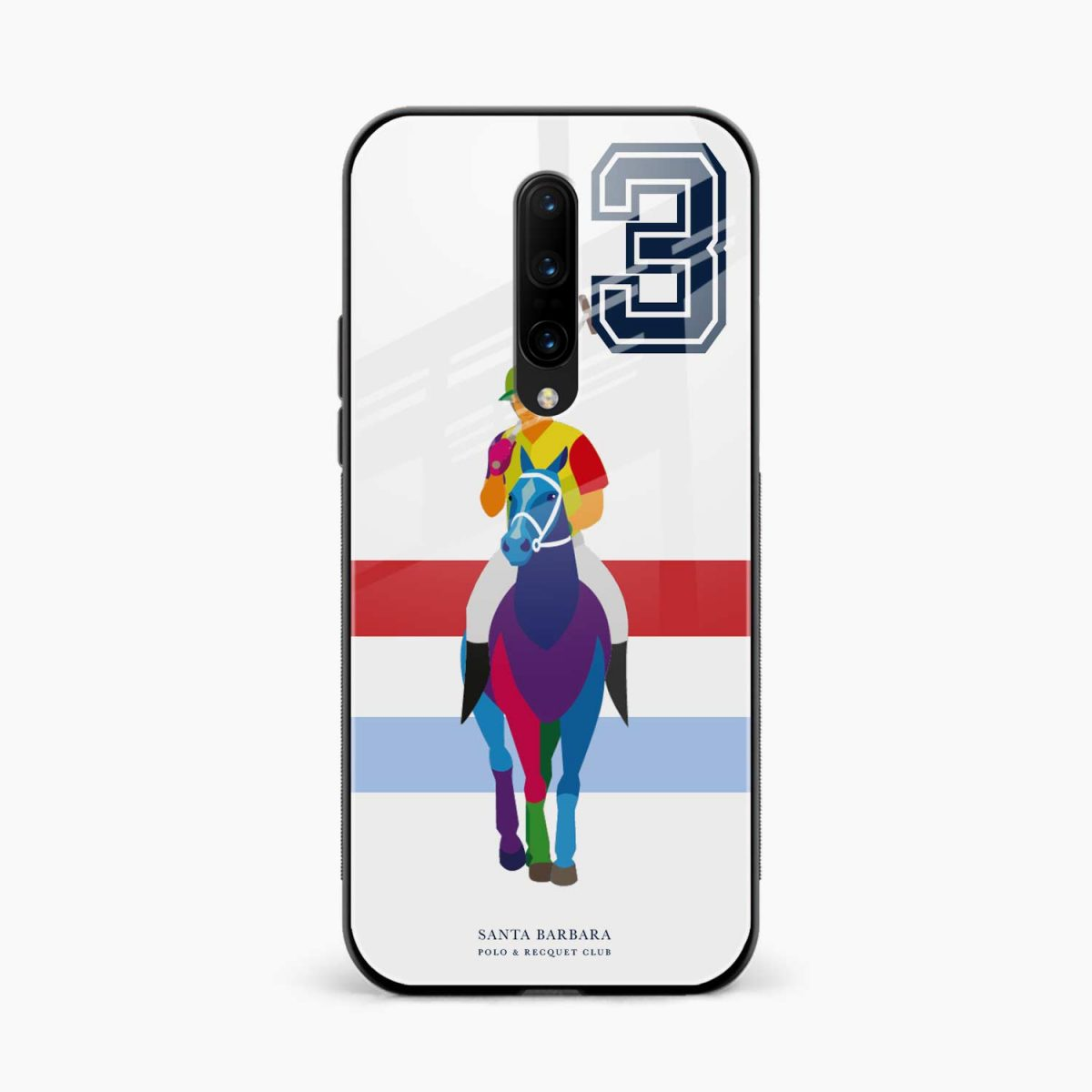 multicolor sant barbara front view oneplus 7 pro back cover