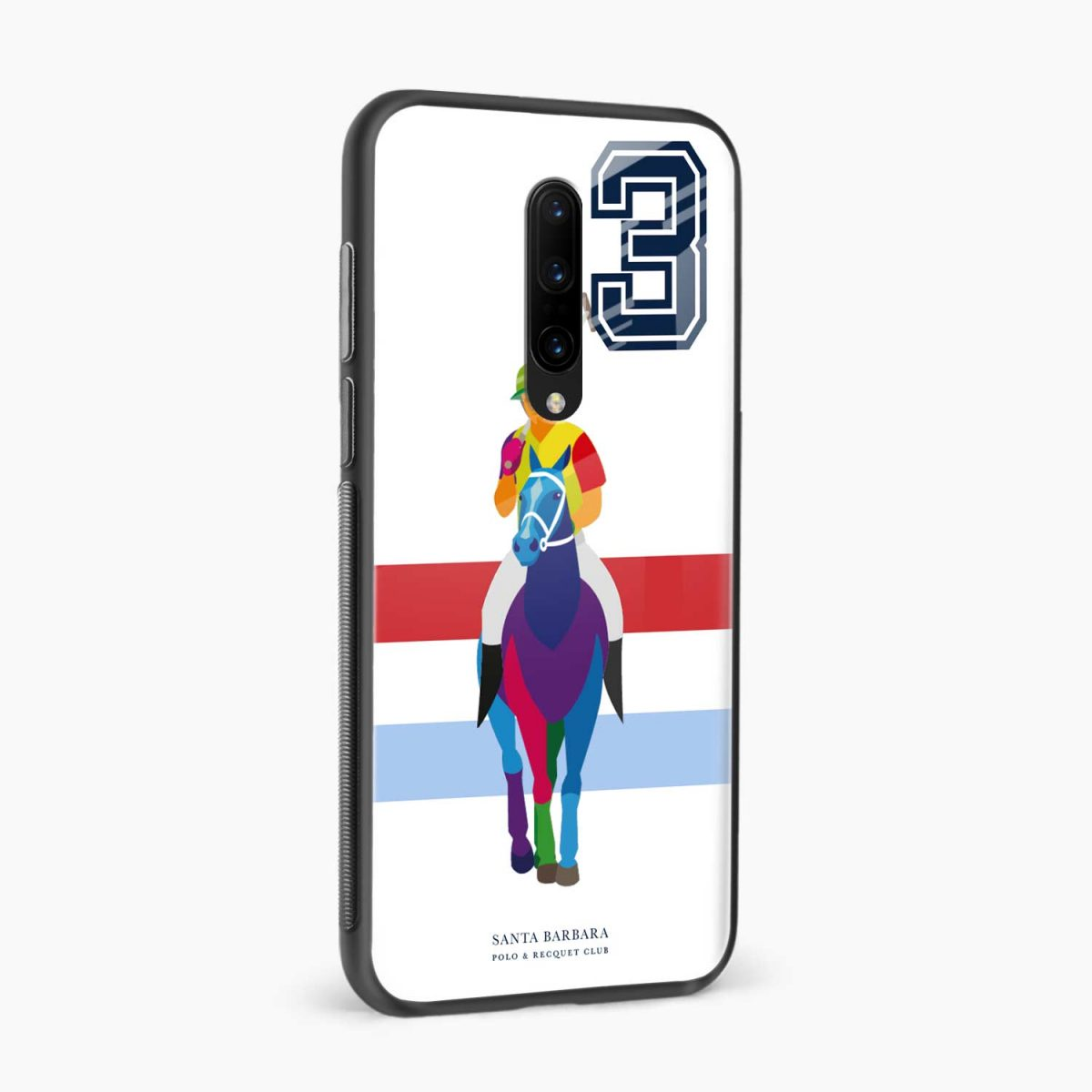 multicolor sant barbara side view oneplus 7 pro back cover