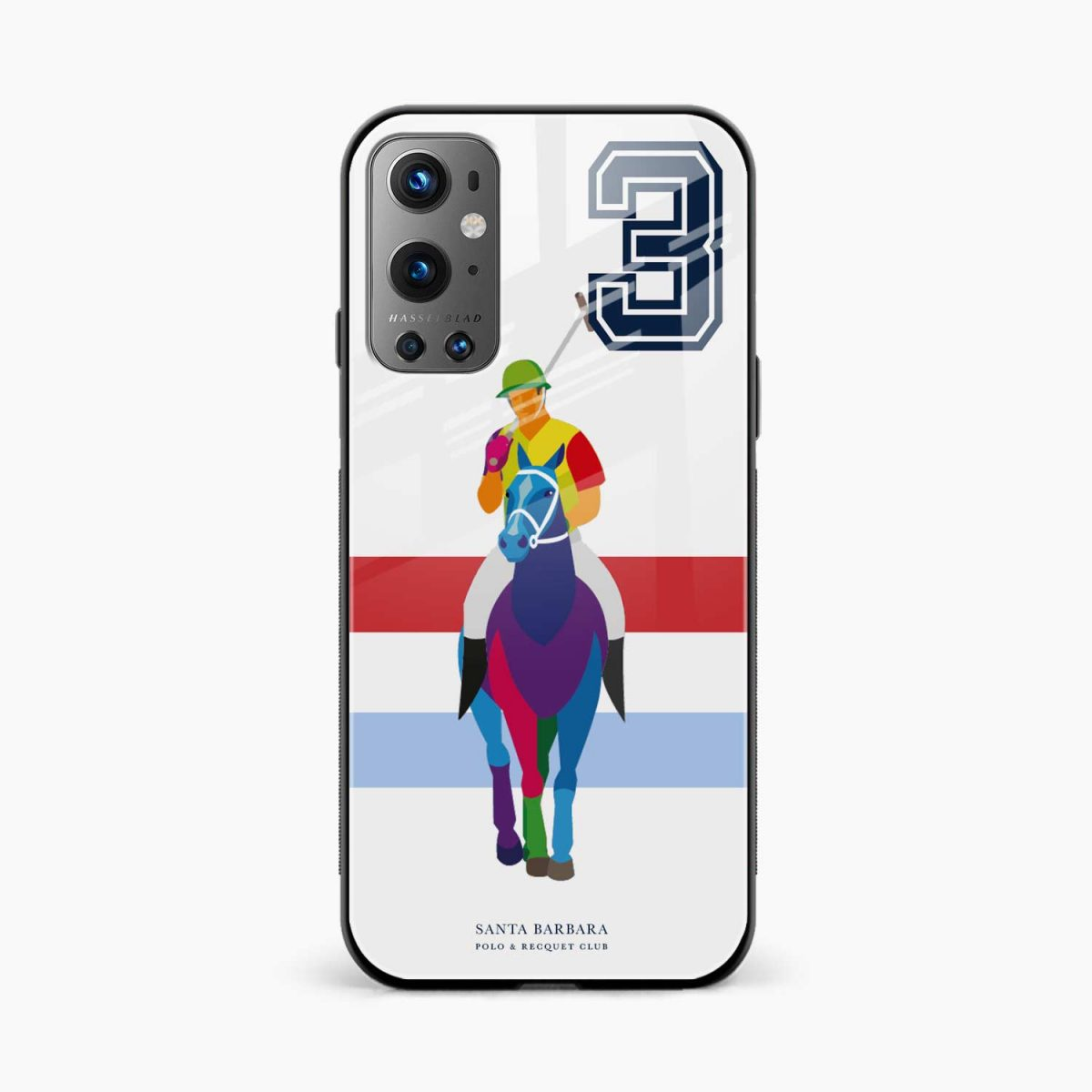 multicolor sant barbara front view oneplus 9 pro back cover