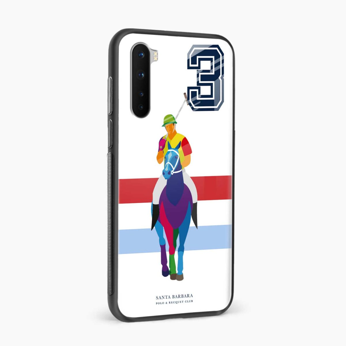 multicolor sant barbara side view oneplus nord back cover