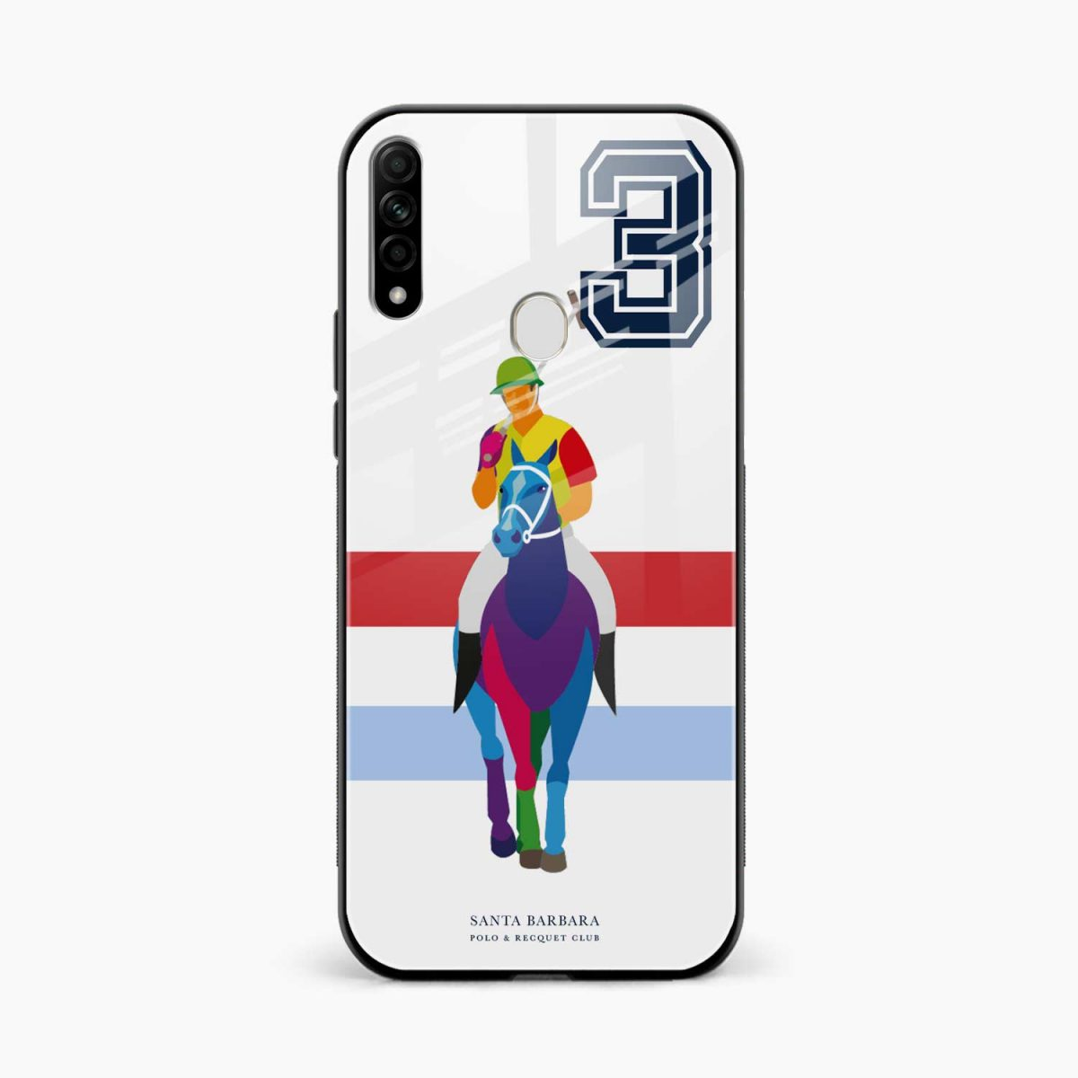 multicolor sant barbara front view oppo a31 back cover