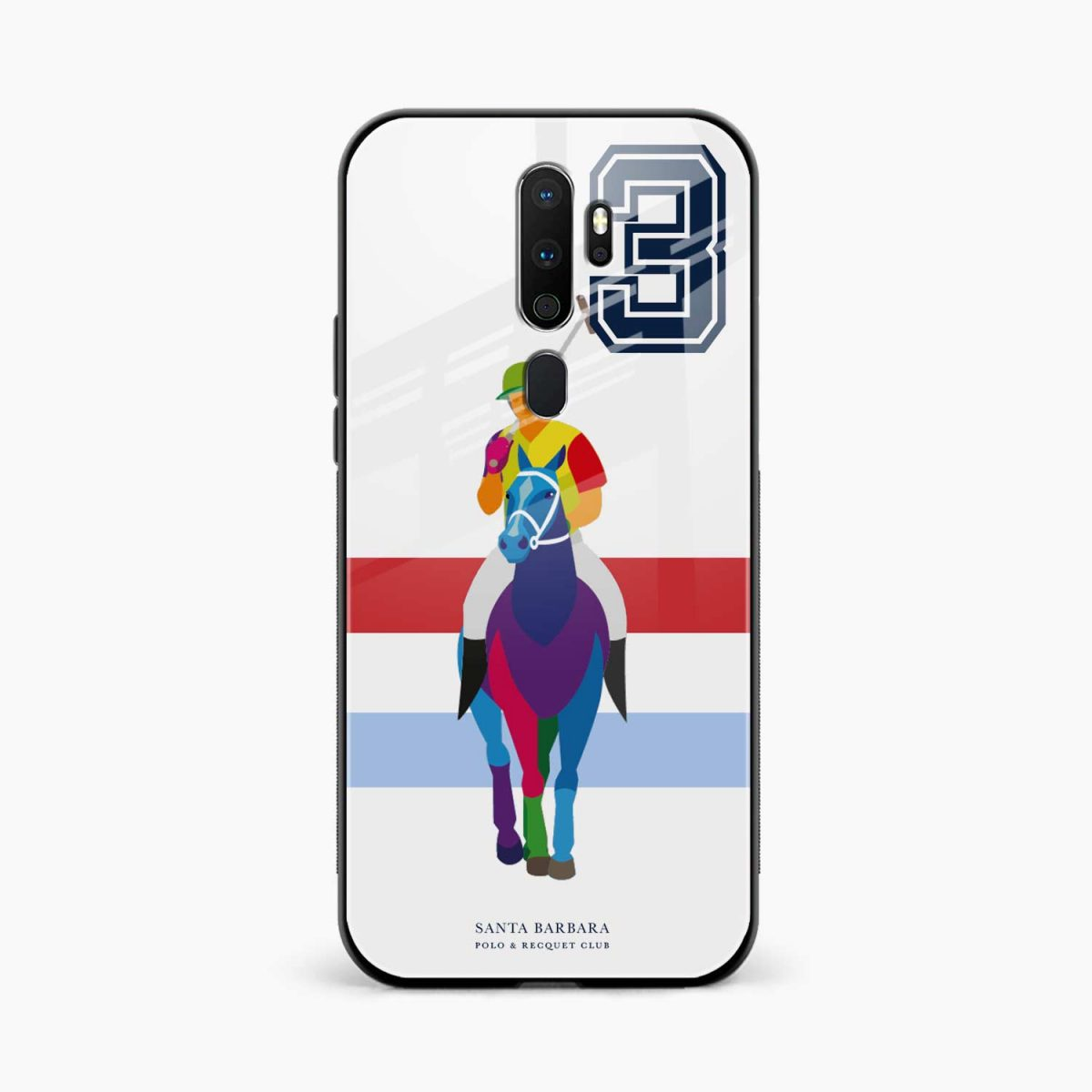 multicolor sant barbara front view oppo a5 back cover 1