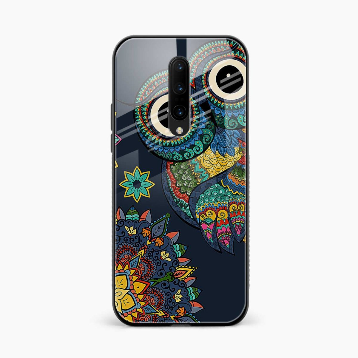 owl eyes front view oneplus 7 pro back cover