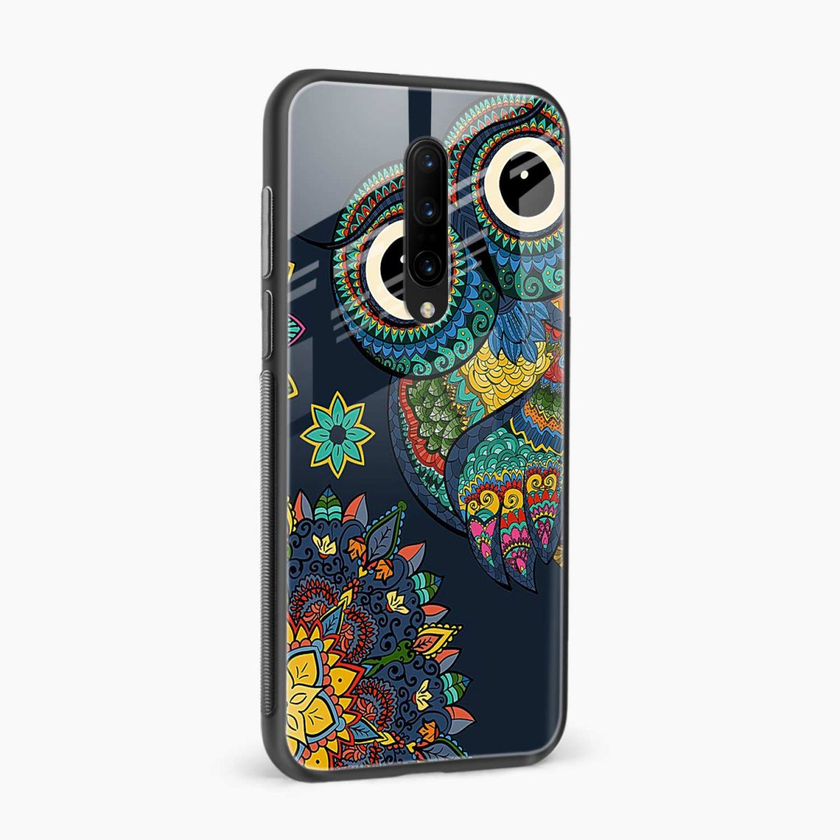 owl eyes side view oneplus 7 pro back cover