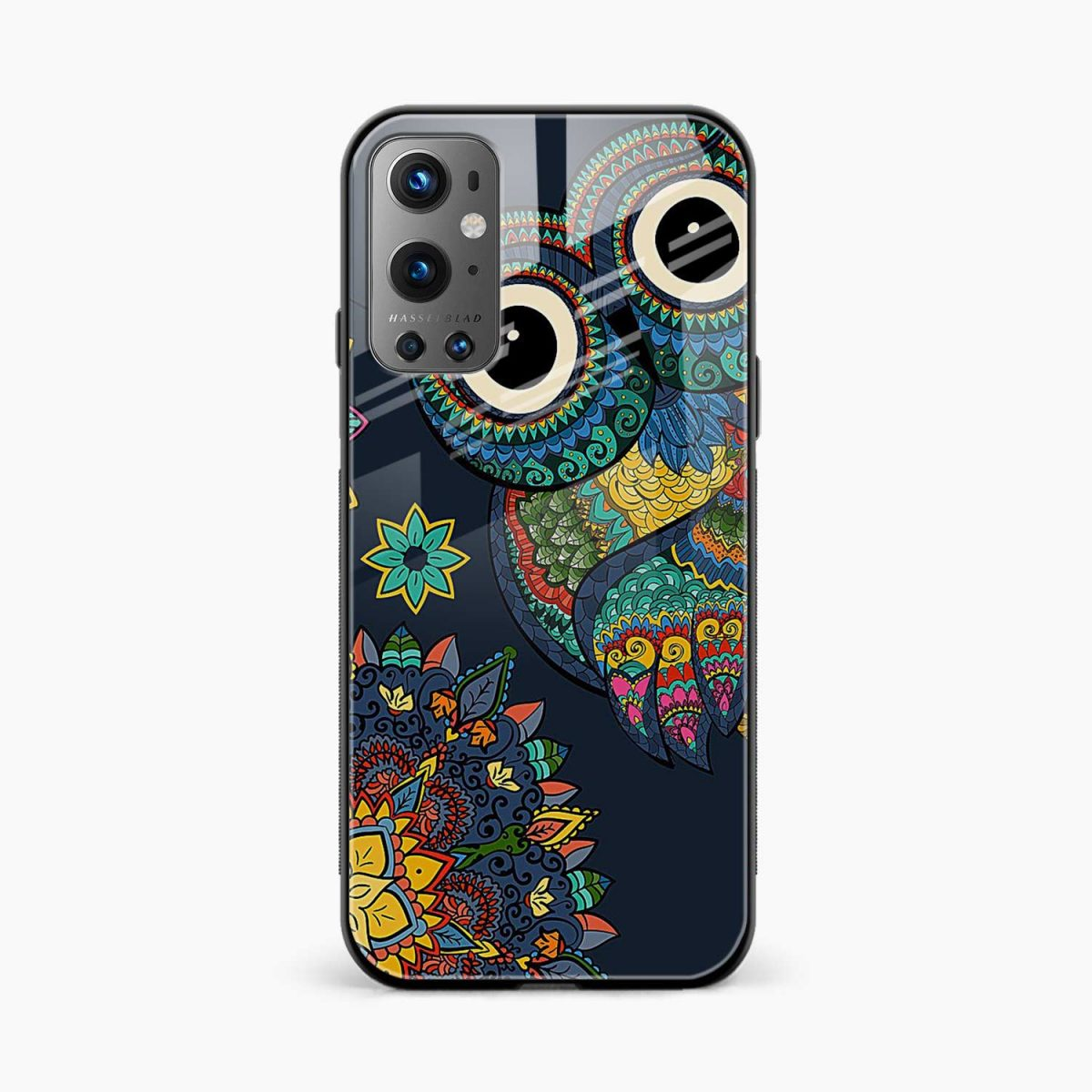 owl eyes front view oneplus 9 pro back cover